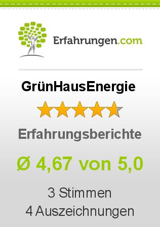GrünHausEnergie Erfahrungen