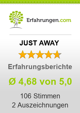 JUST AWAY Erfahrungen