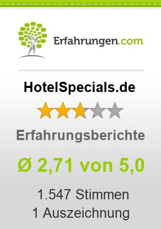 HotelSpecials.de Erfahrungen