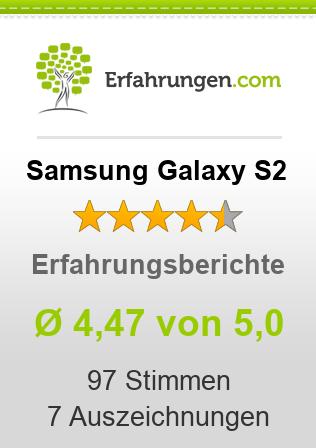 Samsung Galaxy S2 Erfahrungen