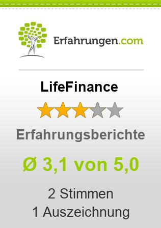LifeFinance Erfahrungen