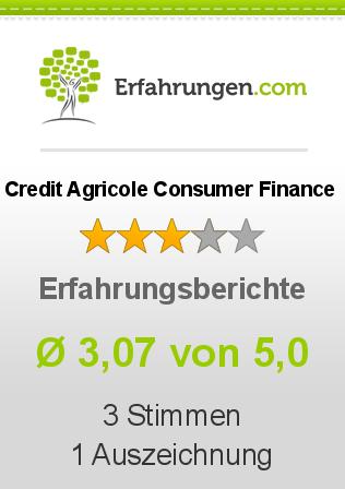 Credit Agricole Consumer Finance Erfahrungen