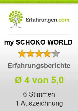 my SCHOKO WORLD Erfahrungen