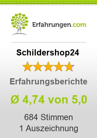 Schildershop24 Erfahrungen