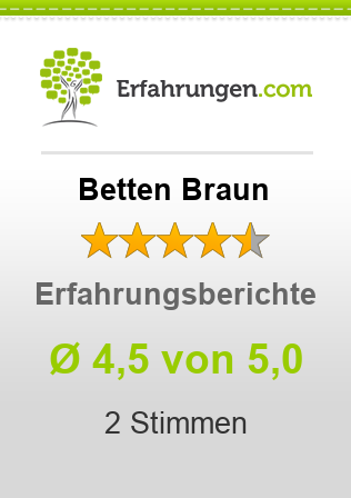 betten braun erfahrungen aus 2 bewertungen 4 5 5 im test. Black Bedroom Furniture Sets. Home Design Ideas
