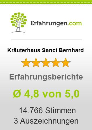 Kräuterhaus Sanct Bernhard Erfahrungen