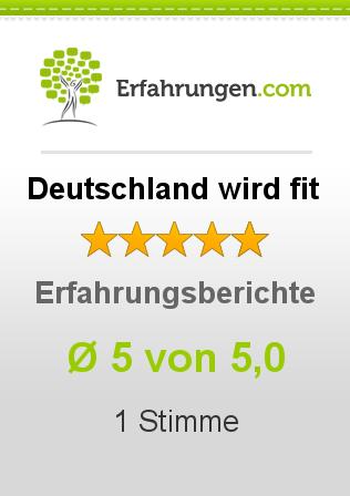 Deutschland wird fit Erfahrungen