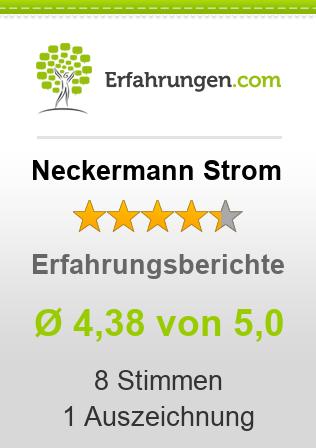 Neckermann Strom Erfahrungen