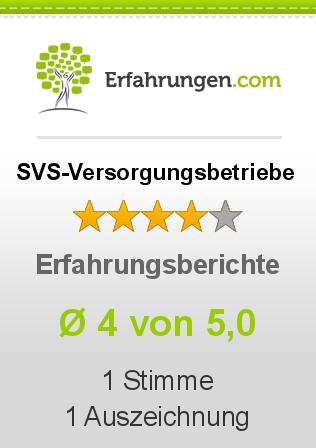 SVS-Versorgungsbetriebe Erfahrungen