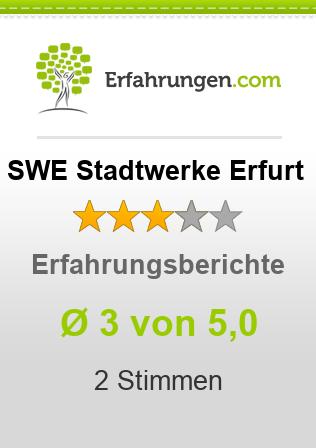 SWE Stadtwerke Erfurt Erfahrungen
