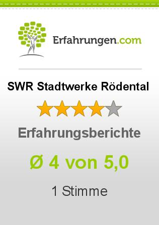 SWR Stadtwerke Rödental Erfahrungen