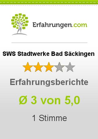 SWS Stadtwerke Bad Säckingen Erfahrungen