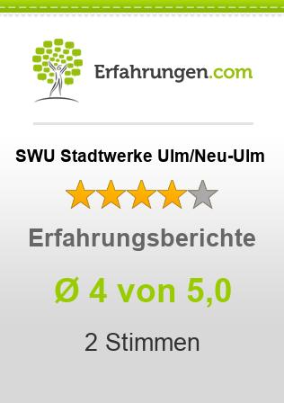 SWU Stadtwerke Ulm/Neu-Ulm Erfahrungen