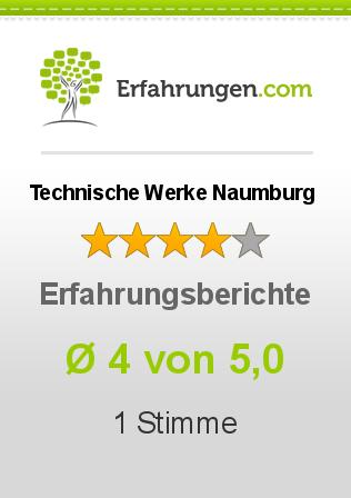 Technische Werke Naumburg Erfahrungen