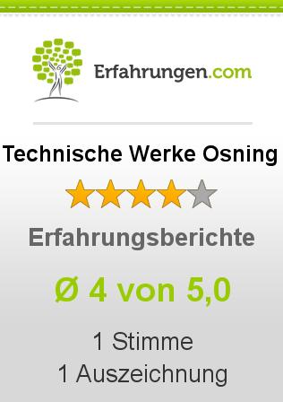 Technische Werke Osning Erfahrungen