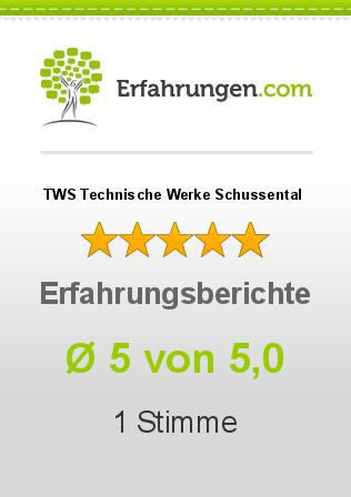 TWS Technische Werke Schussental Erfahrungen