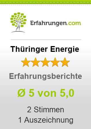 Thüringer Energie Erfahrungen