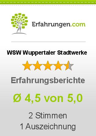 WSW Wuppertaler Stadtwerke Erfahrungen