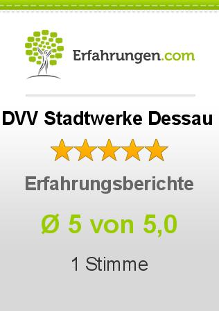 DVV Stadtwerke Dessau Erfahrungen