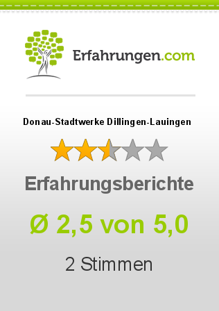 Donau-Stadtwerke Dillingen-Lauingen Erfahrungen