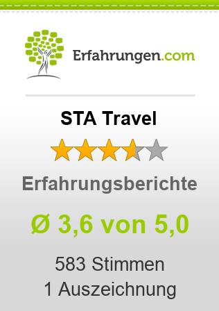 STA Travel Bewertungen