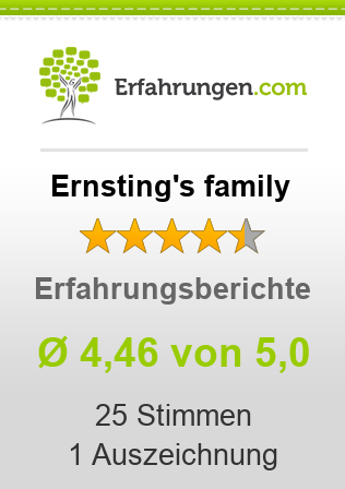 Ernsting's family Erfahrungen