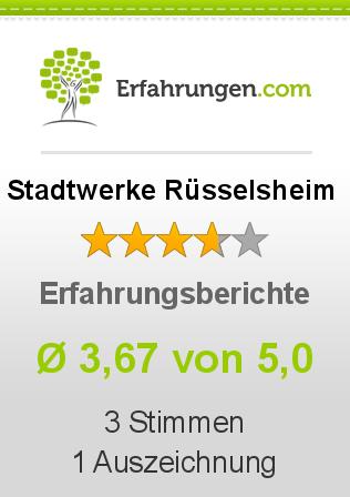 Stadtwerke Rüsselsheim Erfahrungen