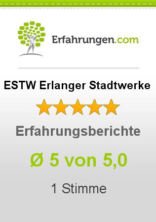 ESTW Erlanger Stadtwerke Erfahrungen