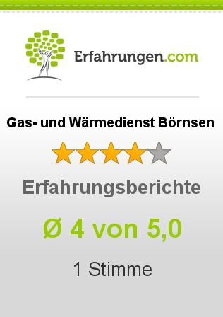 Gas- und Wärmedienst Börnsen Erfahrungen