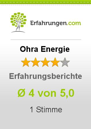 Ohra Energie Erfahrungen