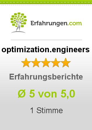 optimization.engineers Erfahrungen