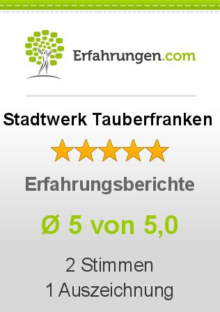 Stadtwerk Tauberfranken Erfahrungen