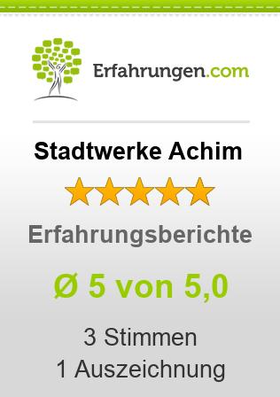 Stadtwerke Achim Erfahrungen