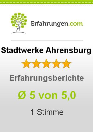 Stadtwerke Ahrensburg Erfahrungen