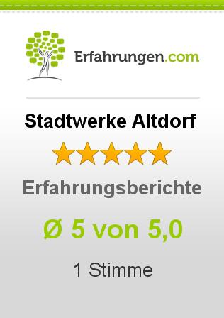 Stadtwerke Altdorf Erfahrungen
