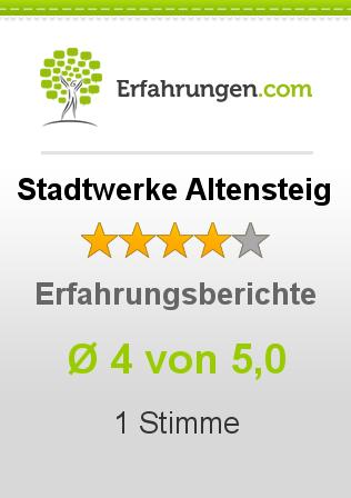 Stadtwerke Altensteig Erfahrungen