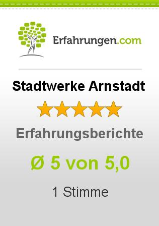 Stadtwerke Arnstadt Erfahrungen