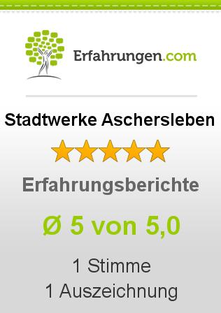 Stadtwerke Aschersleben Erfahrungen