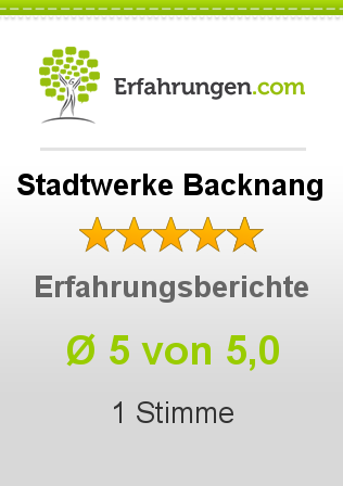 Stadtwerke Backnang Erfahrungen