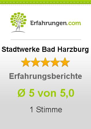 Stadtwerke Bad Harzburg Erfahrungen