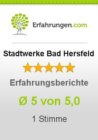 Stadtwerke Bad Hersfeld Erfahrungen
