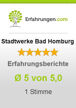 Stadtwerke Bad Homburg Erfahrungen
