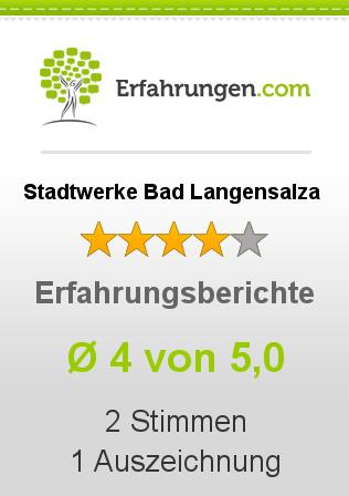 Stadtwerke Bad Langensalza Erfahrungen
