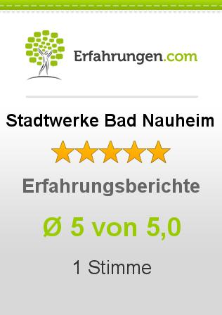 Stadtwerke Bad Nauheim Erfahrungen