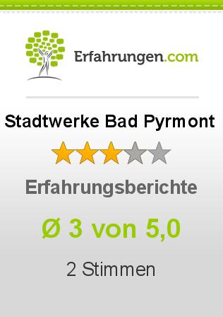 Stadtwerke Bad Pyrmont Erfahrungen