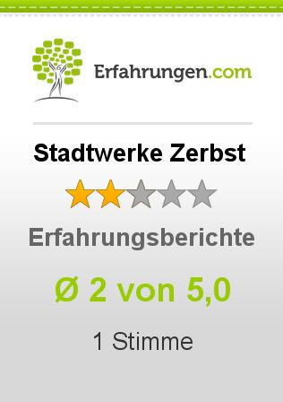 Stadtwerke Zerbst Erfahrungen
