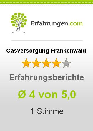 Gasversorgung Frankenwald Erfahrungen