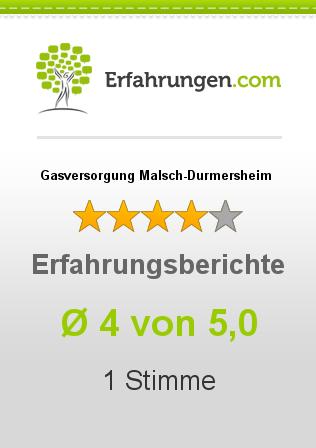 Gasversorgung Malsch-Durmersheim Erfahrungen