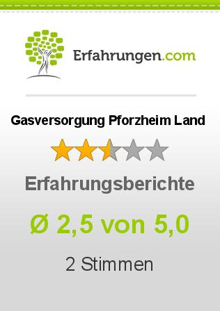 Gasversorgung Pforzheim Land Erfahrungen
