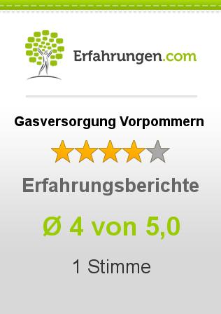 Gasversorgung Vorpommern Erfahrungen
